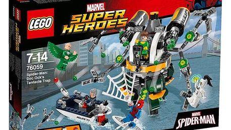 LEGO® SUPER HEROES™ 76059 Spiderman: Past z chapadel doktora Ocka