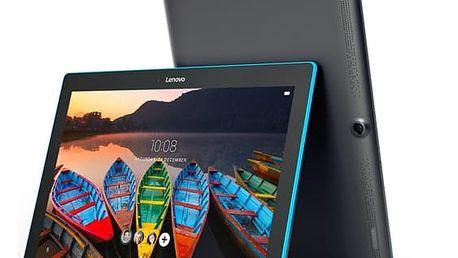 Dotykový tablet Lenovo TAB3 10 (ZA1U0015CZ) černý/modrý Software F-Secure SAFE, 3 zařízení / 6 měsíců v hodnotě 979 Kč + DOPRAVA ZDARMA