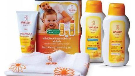 WELEDA Měsíčkový kojenecký set 200 ml + 200 ml + 75 ml + DÁREK