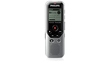 Diktafon Philips DVT1200 stříbrný