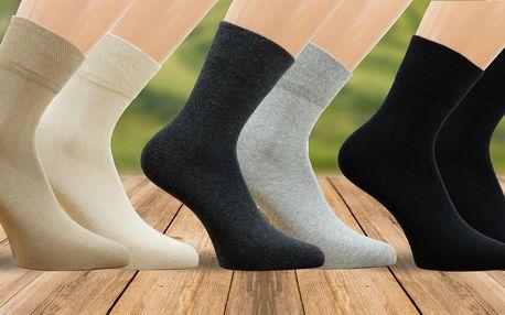 Bio unisex ponožky ve 3 variantách