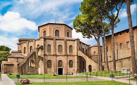 Pobyt u moře v Itálii kousek od pláže. 3* hotel v historickém městě Ravenna