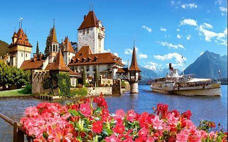 Navštivte malebné město Thun ve Švýcarsku během 3 dnů na zájezdu s průvodcem