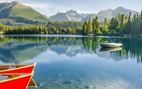 Pohoda ve Vysokých Tatrách na 4–8 dní
