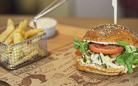 Burger pro 1 i 2: hovězí, kachní i s ratatouille
