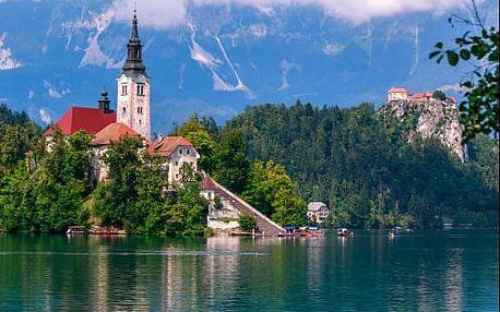 Pobyt v Slovinsku kousek od romantického jezera Bled a Triglavského národního parku