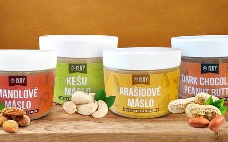 Arašídový, mandlový i kešu krém: Energie s chutí