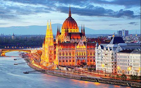 Komfortní pobyt v Budapešti kousek od centra v 4* hotelu se snídaní, vířivkou a saunou