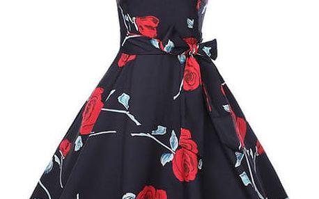 Květované šaty Nellie - 22 variant