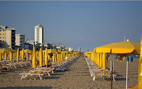 3denní zájezd k moři do italského letoviska Caorle pro 1 osobu