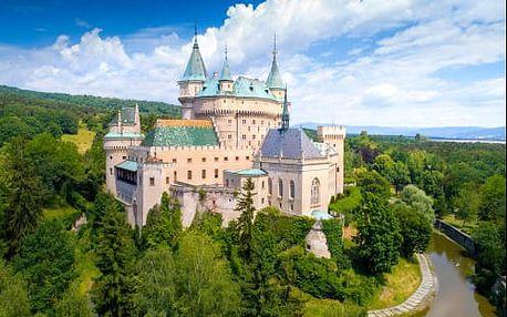 Lázeňské Bojnice pobyt ve 3* hotelu u zámku s polopenzí i wellness - CELOROČNĚ!