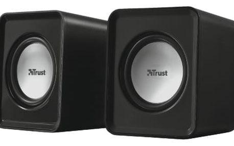 Reproduktory Trust Leto 2.0 černý (19830)