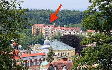 Mariánské Lázně - pobyt ve 3* hotelu kousek od kolonády s léčebnými procedurami a polopenzí