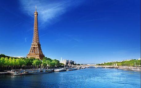 Famózní a programem nabitý 6-denní PAŘÍŽ s nekonečnými památkami a zámky
