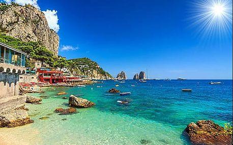 Skvosty jižní Itálie za 6 dní: ŘÍM, Vatikán, Vesuv, Pompeje, Herculaneum, Capri, Neapol a koupání