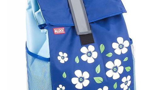 Aldo Nákupní taška na kolečkách Paris, modrá
