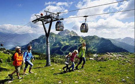 Alpský wellness pobyt v hotelu na nádherném místě ve výšce 1 400m n.m. ve středisku Hermagor