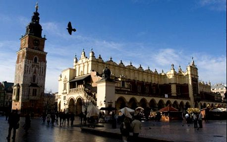 Příjemný a pohodlný pobyt v Krakově v pěším dosahu historického centra
