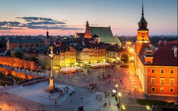 Luxusní víkend pro dva v centru Varšavy v 5* hotelu. Dítě do 12 r. zdarma