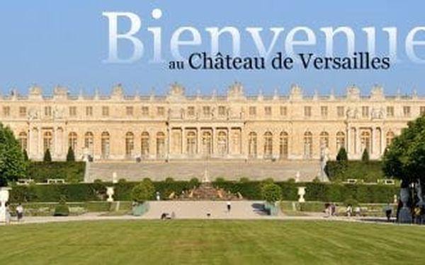 Navštivte nejzajímavější místa města lásky. PAŘÍŽ, Versailles a Remeš za 5 dní s ubytováním3