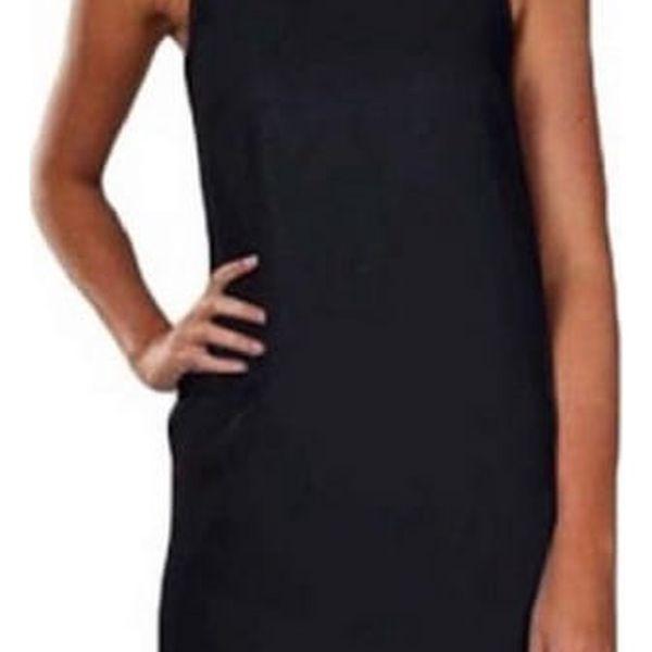 Stylové jednobarevné mini šaty