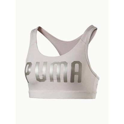 Podprsenka Puma PWRSHAPE Forever - Logo Šedá