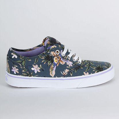 Boty Vans Wm Atwood (Floral) Dark B Modrá