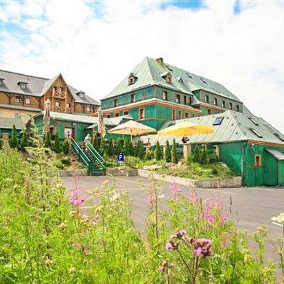 Krušné hory ve 3* hotelu s polopenzí