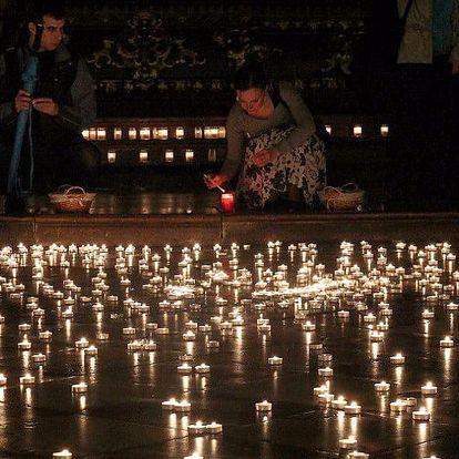 Noční varhanní koncert v kostele při svíčkách