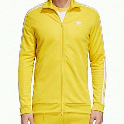 Mikina adidas Originals Beckenbauer Tt Žlutá