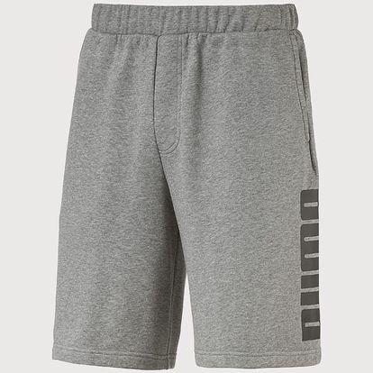 Kraťasy Puma Rebel Sweat Shorts Šedá