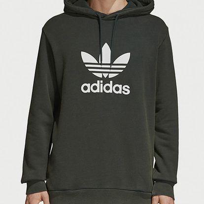 Mikina adidas Originals Trefoil Hoody Zelená