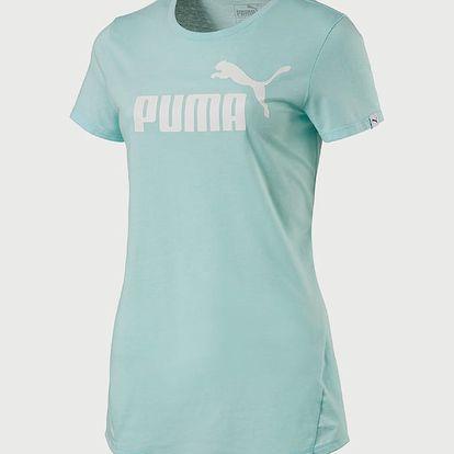 Tričko Puma ESS No.1 Tee Heather W Zelená