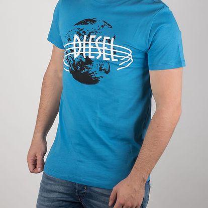 Tričko Diesel T - Diego - Nc Maglietta Modrá