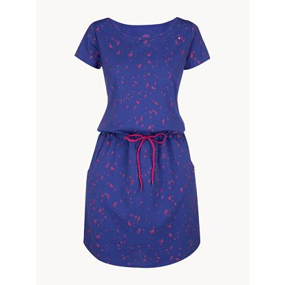 Šaty Loap Amber Modrá