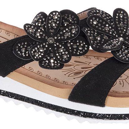 Bosido Dámské pantofle s krystalky