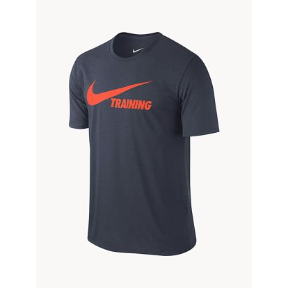 Tričko Nike Training Swoosh Tee Modrá