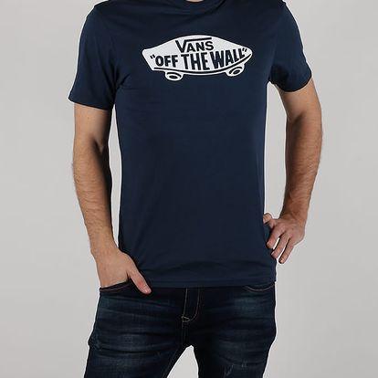 Tričko Vans Mn Otw Dress Blues Modrá