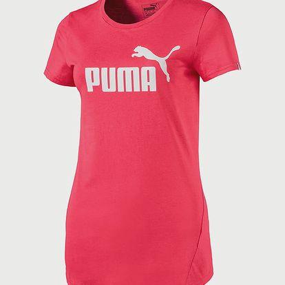Tričko Puma ESS No.1 Tee W Růžová