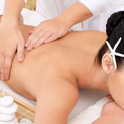 30 či 60 minut relaxační aromatické olejové masáže