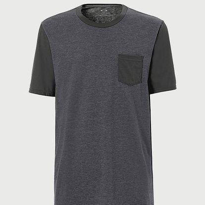 Tričko Oakley 50- Solid Pkt Černá