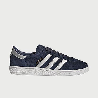 Boty adidas Originals Munchen Modrá
