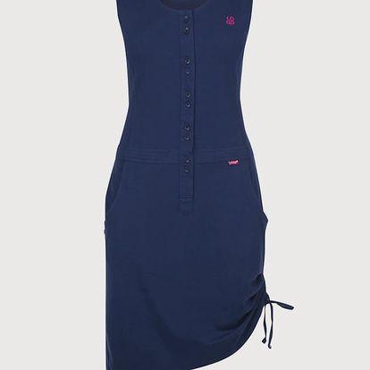 Šaty Loap Nela Modrá
