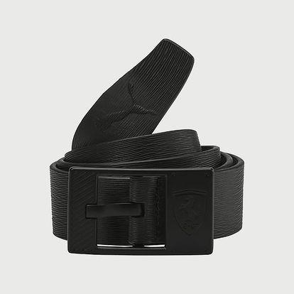 Pásek Puma SF LS Leather Belt Černá