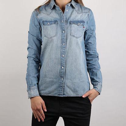 Košile Replay W2922 Hemd Modrá