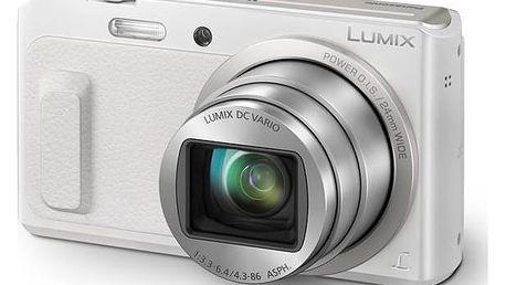 Panasonic Lumix DMC-TZ57EP-W bílý