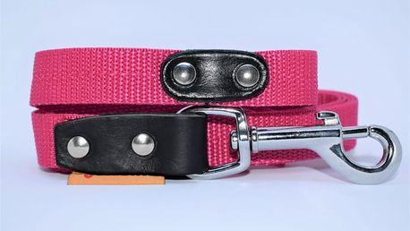 Vodítko pro psy z kvalitního nylonu - 9 barevných variant