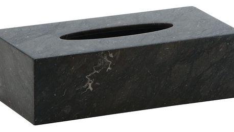 Mramorový box na kapesníčky Aquanova Hammam