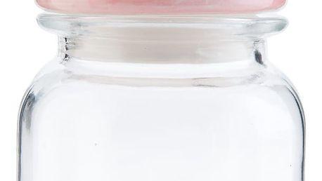 Skleněná dóza Clayre & Eef Cupcake, 600 ml