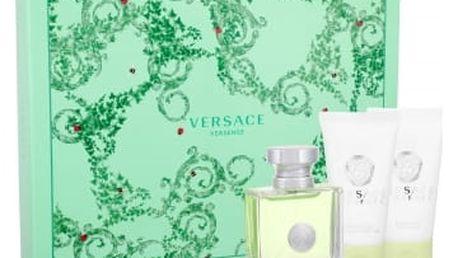Versace Versense 50 ml dárková kazeta dárková sada pro ženy toaletní voda 50 ml + tělové mléko 50 ml + sprchový gel 50 ml